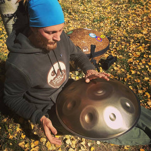 TACTA HANDPAN : D KURD (8+6 NOTES) + PANJI BAG
