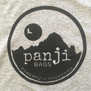 PANJI T-SHIRT : GRAY (black print)