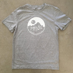 PANJI T-SHIRT : GRAY (white print)