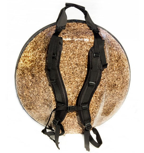 Alternative Ergonomic Eco-Friendly Fiber Composite Hardshell Handpan Hang Drum Bag : Panji Bags