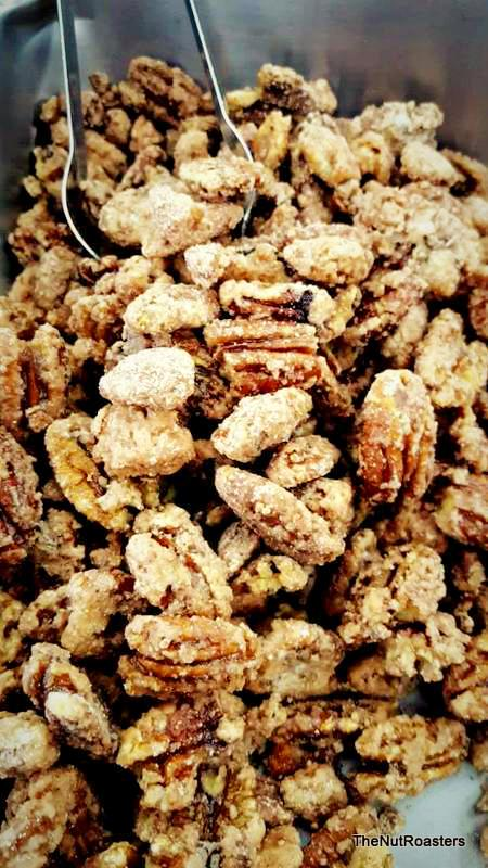 Pecans, English Toffee