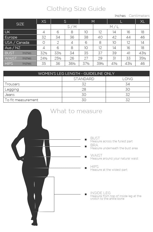 Clothing Size Guide