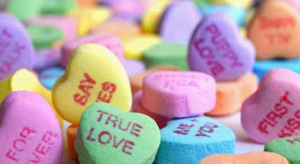 DO NOT eat Sweethearts candy this season...if you can even find them in stores!