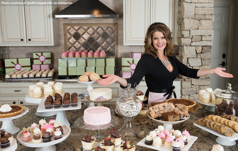 Image Gigi Butler of Gigi's Cupcakes. Gigi's Cupcakes recently filed Chapter 11 Bankruptcy to manage debt obligations.