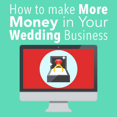 How to Make More Money in Your Wedding Cake Business