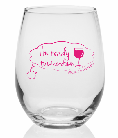 Wine-Down Wednesday Stemless Wine Glass