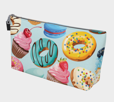 Sugary Treats Clutch/Makeup Bag