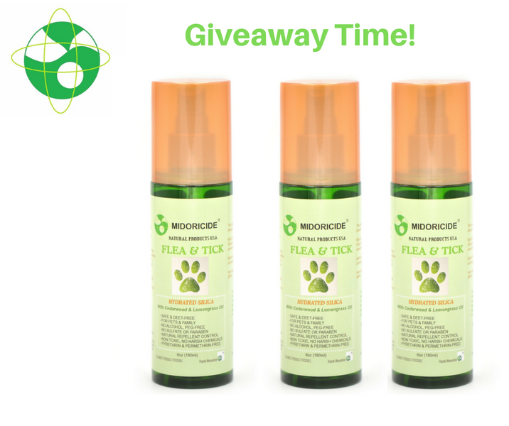 Natural Flea & Tick Spray - Giveaway
