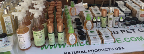 midoricide natural products at andersonville fest