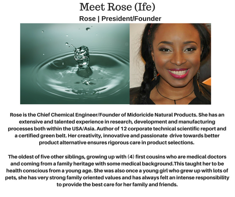 MEET THE FOUNDERS- MIDORICIDE NATURAL PRODUCT
