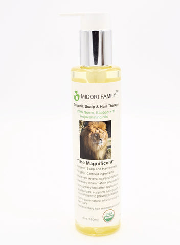 ORGANIC HAIR GROWTH OIL