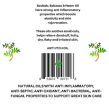 Skin irritation - Natural Anti-Itch Oil -6oz