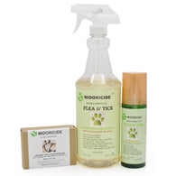 Natural Flea & Tick Control - 3 Piece Bundle with gentle skin care