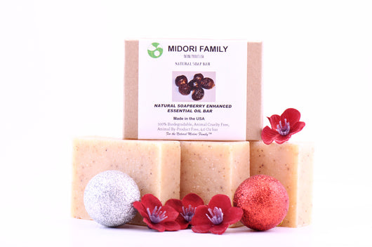Natural People-Moisturizing SoapBerry Enhanced Essential Oil Bar-3 Pack Bundle Care