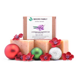 Lavender | Natural soapberry soap with baobab and Olive oil | 3 pack Bundle