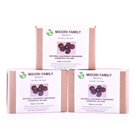 People care | Soapberry Soap with Enhanced Essential Oil Blend | Bundle