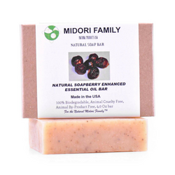Soapberry Soap with Enhanced Essential Oil Blend | Natural soapnuts