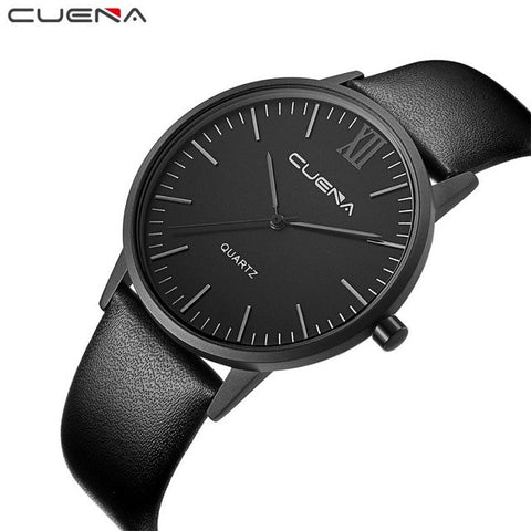 CUENA Watch Men Fashion Casual Business Style Quartz Analog Wrist Watches For Men Watches kol saati erkek montre homme #XJ11