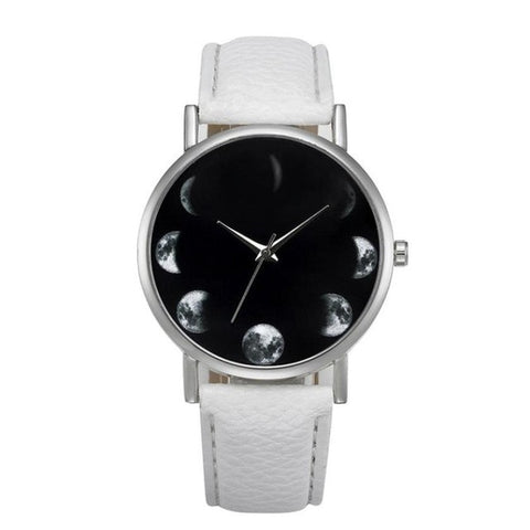 2017 Fashion Brand Watches Women Faux Leather Quartz-watch Male Female Clock Relogio Feminino Montre Femme #424