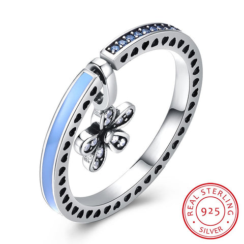 925 Sterling Silver Ring Retro type dual-purpose ring (Send DIY necklace)