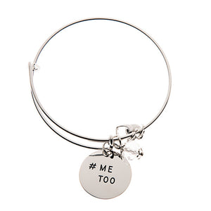 #MeToo Charm Bangle - Women Empowerment
