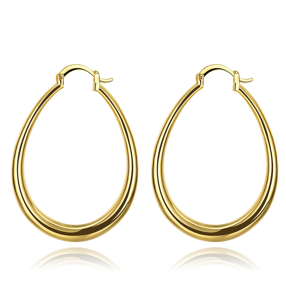 3 Pairs Hoop Earring Set in Gold Filled