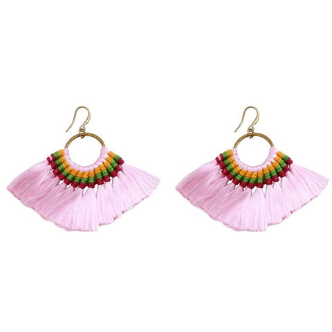 Boho Style Tassel Earrings