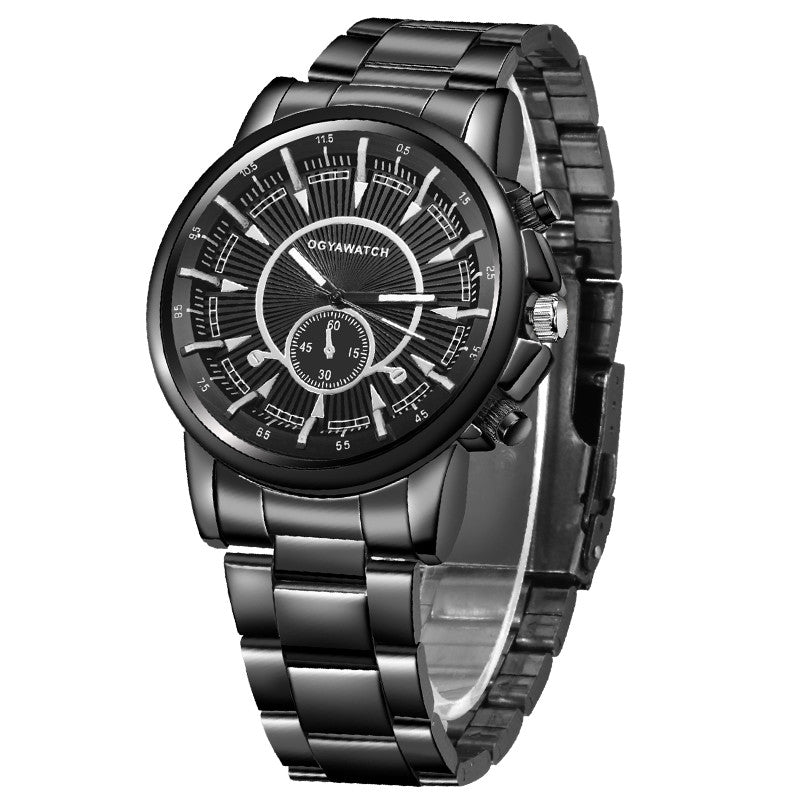 2018 Fashion Men's Watch Stainless Steel Watch Dress Watch