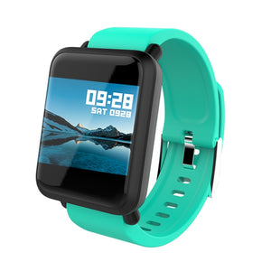 M28 Color Screen Smart Bracelet Smart Band Blood Pressure Oxygen Heart Rate Monitor Pedometer Fitness Tracker Smart Watch IP67 Waterproof Bluetooth Smart Wristband