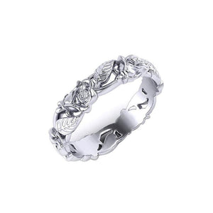 Popular Vintage New Jewelry Women's 925 Sterling Silver Leaf Floral Bridal Wedding Engagement Band Ring Size 6   10