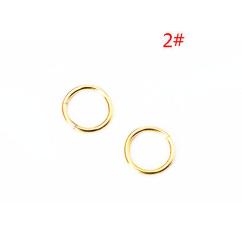 European and American fashion beauty nose ring for allergy puncture titanium steel nose nail ring