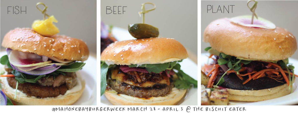 Mahone Bay Burger Week 2019 - March 28 to April 3!