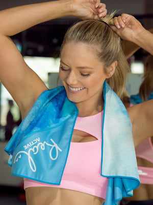 Real Active 'Be Brave' Workout Towel