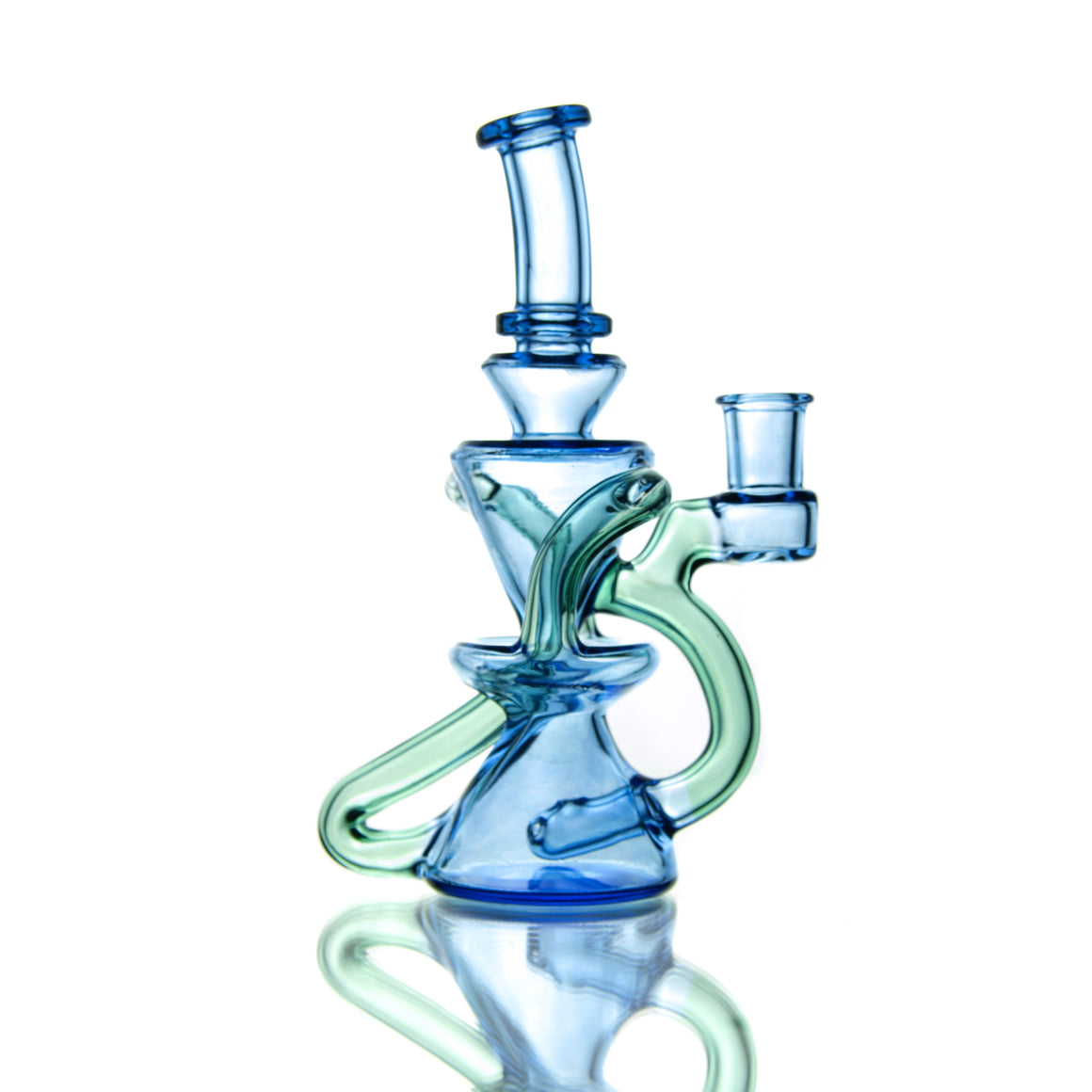 Mini Double-uptake Floating Recycler - Blue Dream/Meta-Terrania - 10mm Female