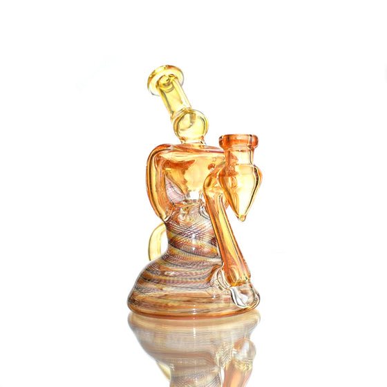 Fully-worked Klein Recycler - Citrus/Sunset Reti - 14mm Female