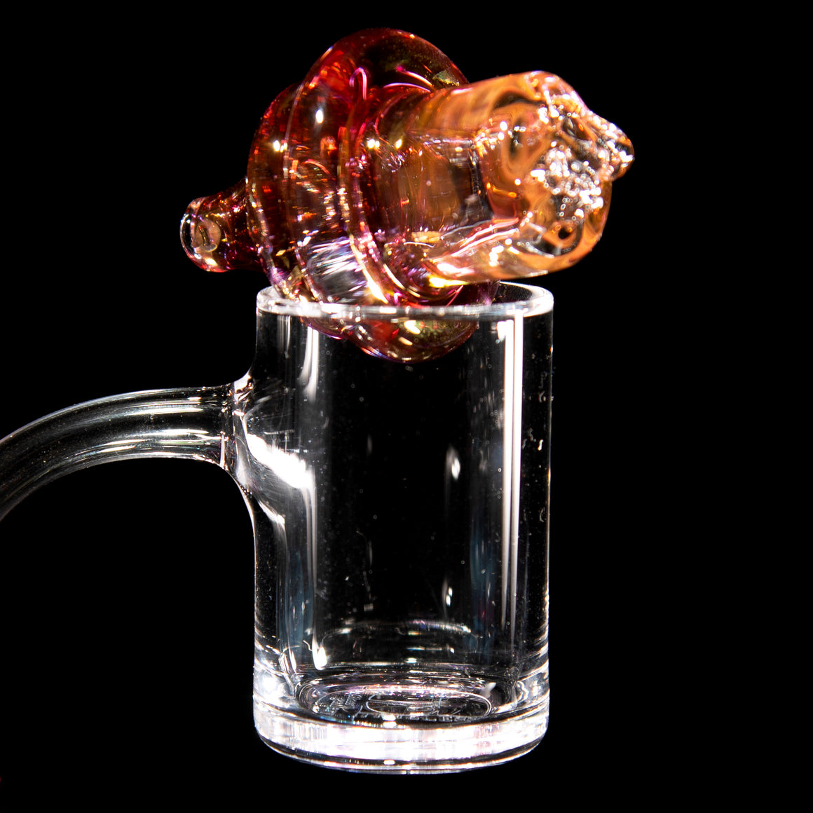Fully-fumed XL Spinner Cap