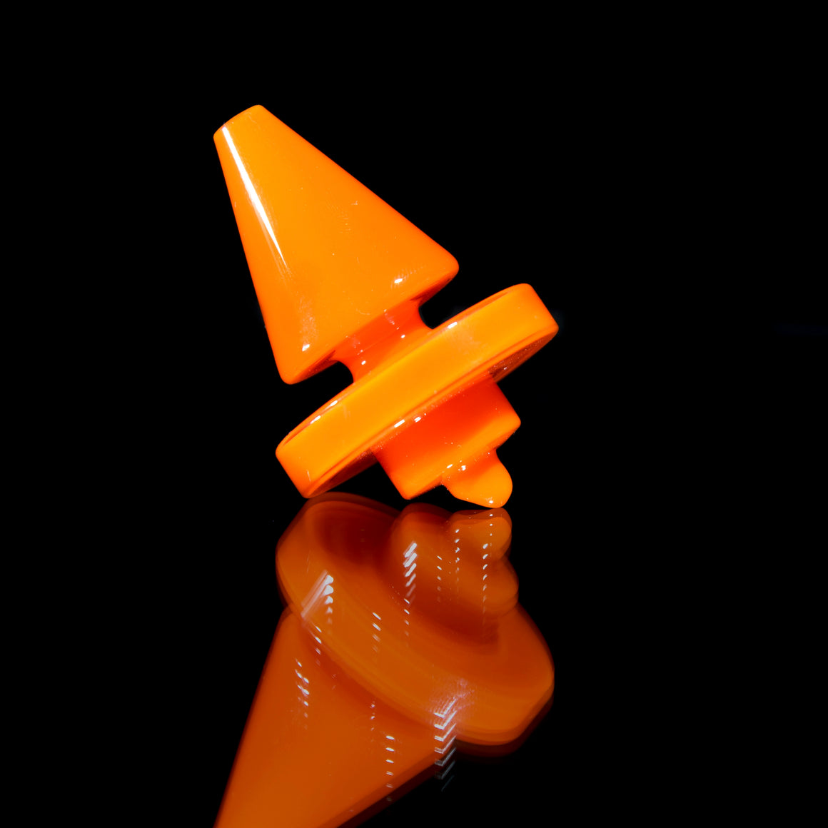 Colored XL Double-sided Cap - Opaque Orange