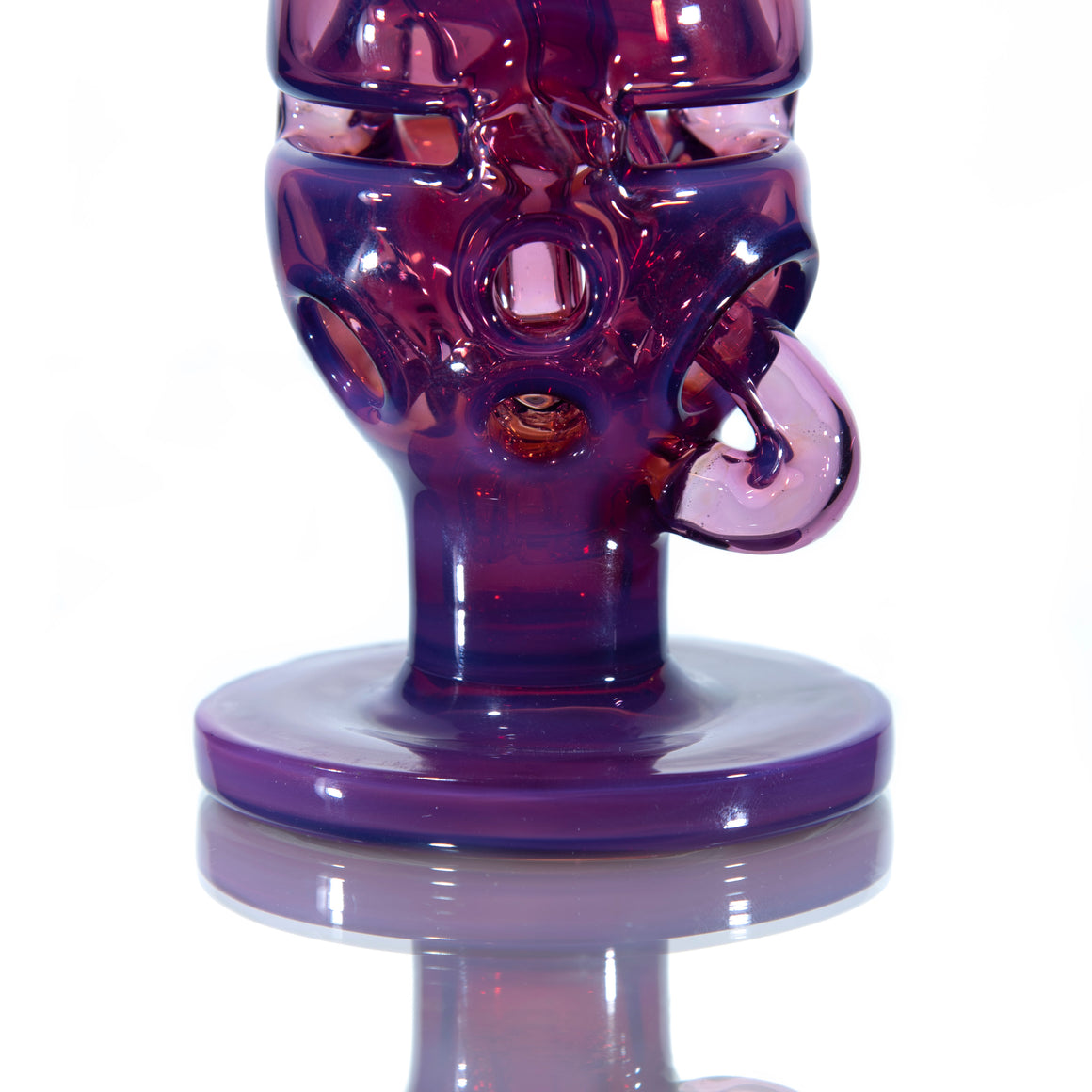 "Single-Uptake ""Klegg"" Faberge Egg Klein Recycler - Untitled NS Color  - 10mm Female"