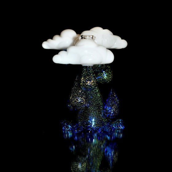 Dichro Raindrop Rig - Dichroic/White - 14mm Female