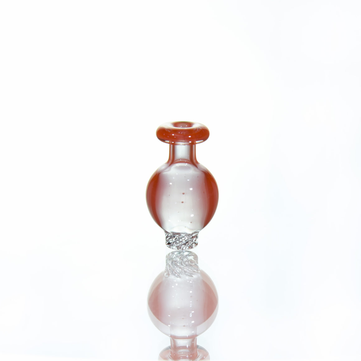 Mini RipTide Bubble Cap (for <20mm Buckets, PuffCo and Carta vapes) - OrangeCrayon