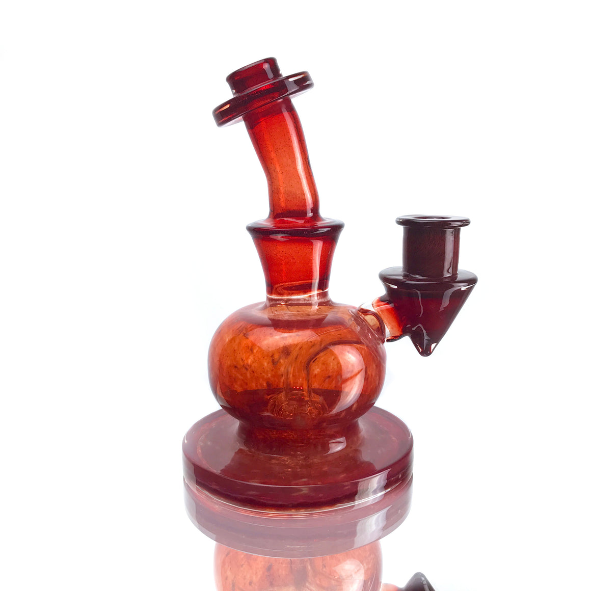 Fully-worked Circ Orb Rig - Pomegranate - 14mm Female