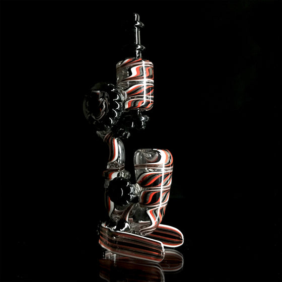 Microscope Sherlock - Red/Black/White/Steel Wool