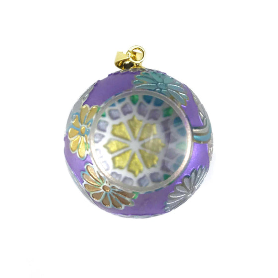 Kaleidoscope Pendant - Purple