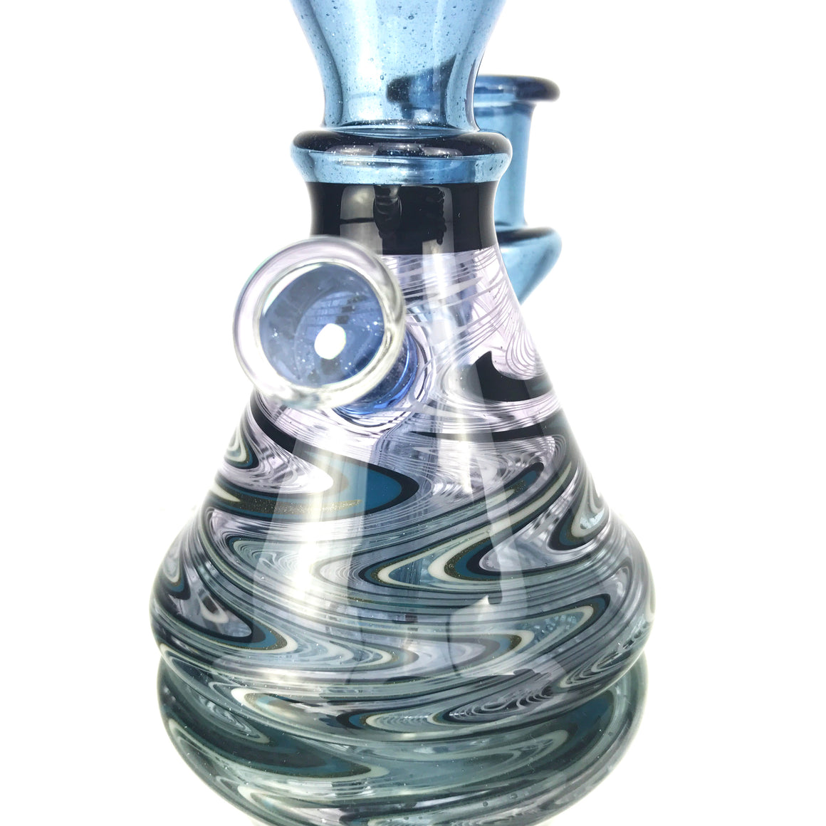 Ghost Linework Mini Ripper - Blue Stardust - 14mm Female