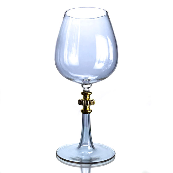 CFL Potion Wine Glass with 21k Gold-plated Stem