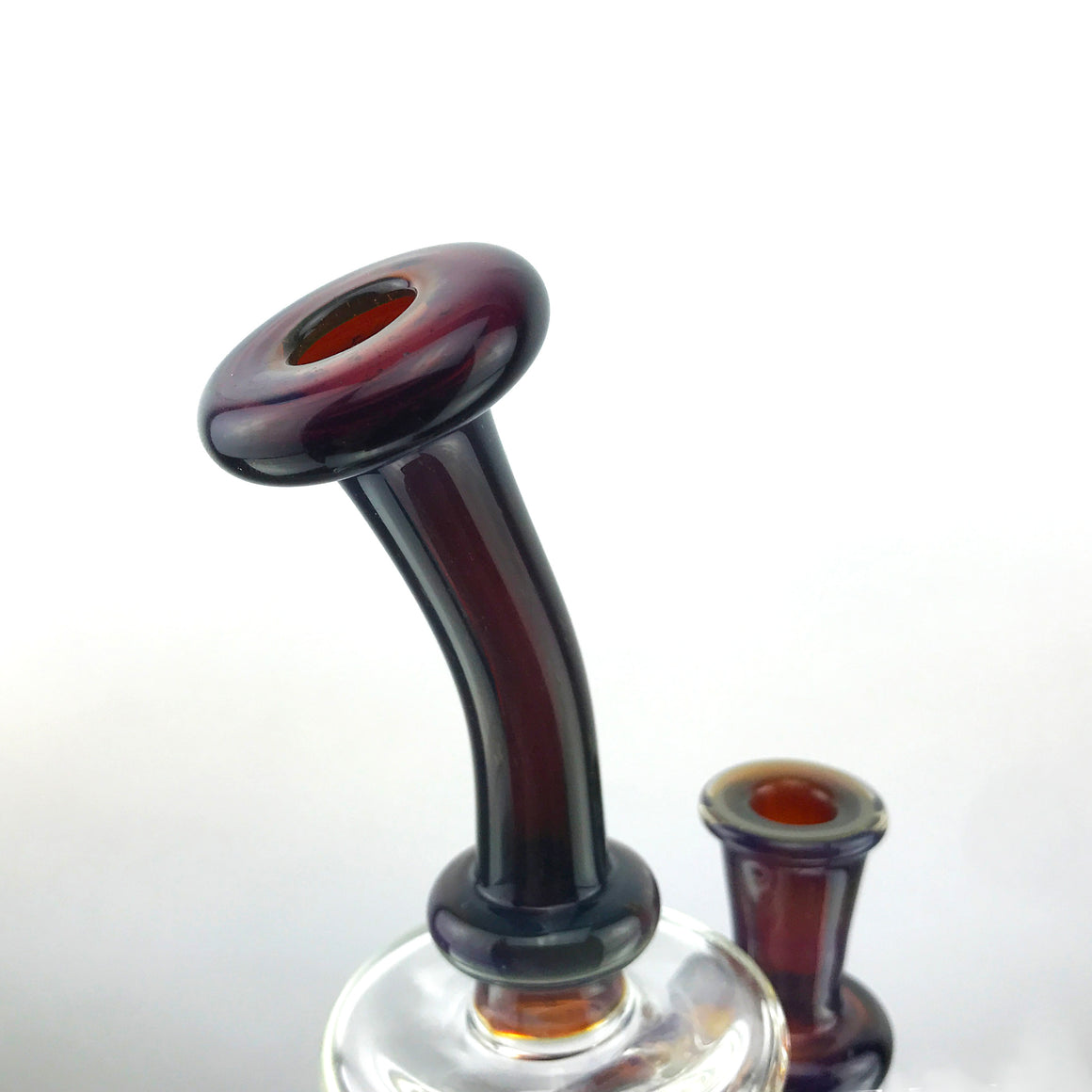 Reinforced Perc Rig - Deppe's Darkness - 10mm Female