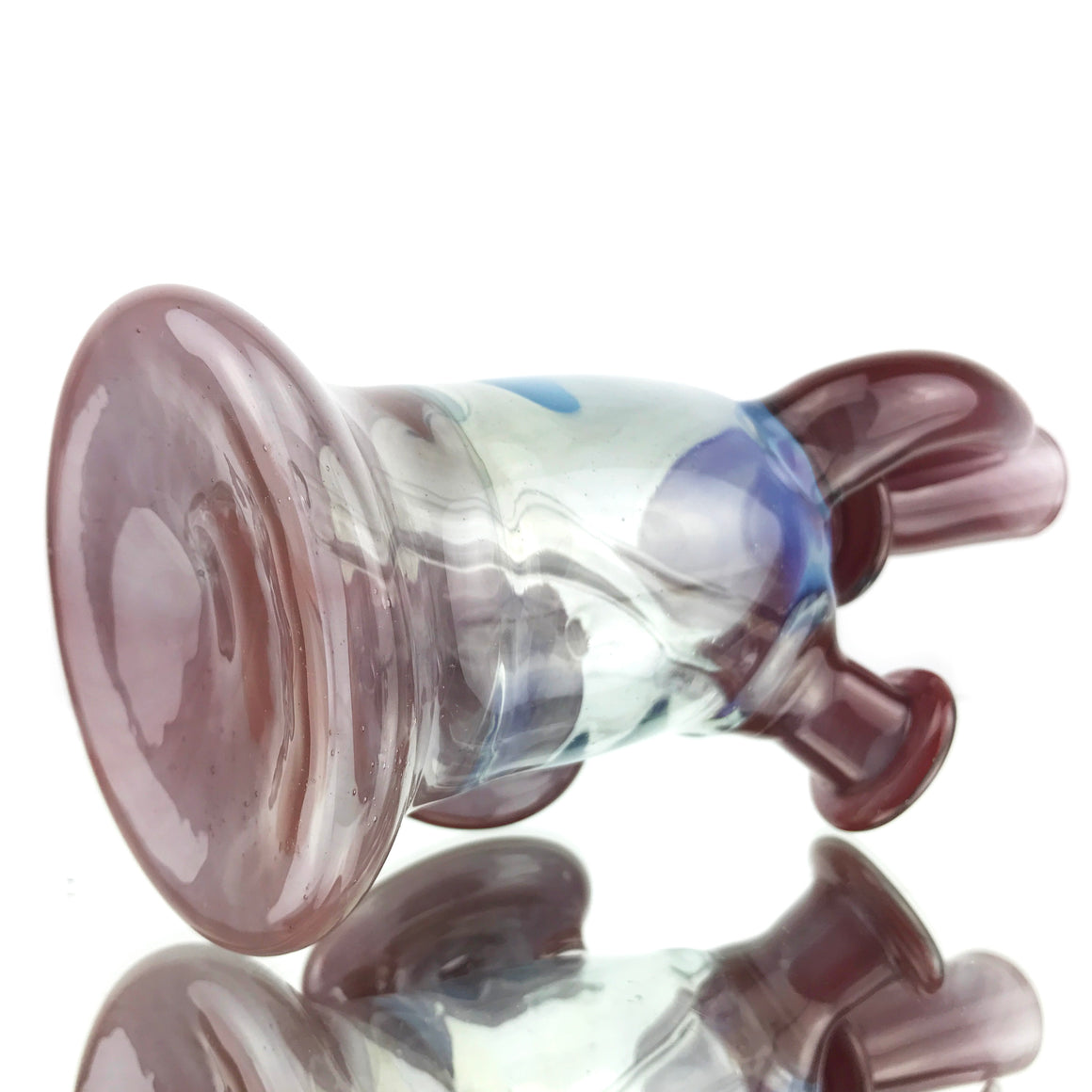 Fully Worked Shield Rig - Wine Red/Sliver Fume Blue - 14mm Female