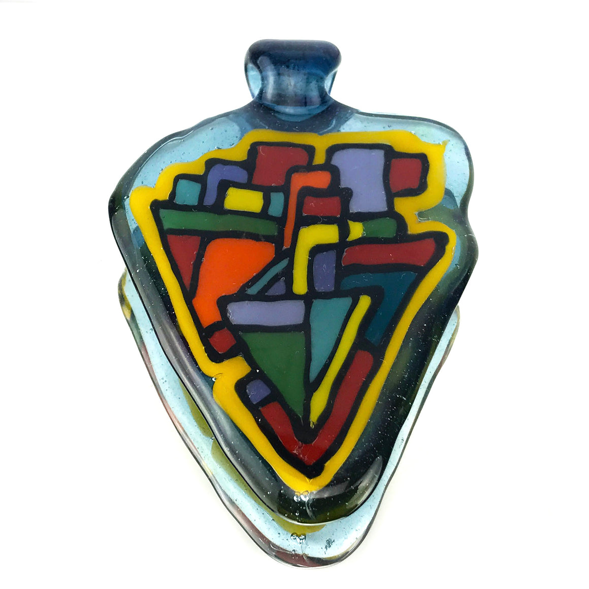 Polygonal Geometric Fillacello Pendant
