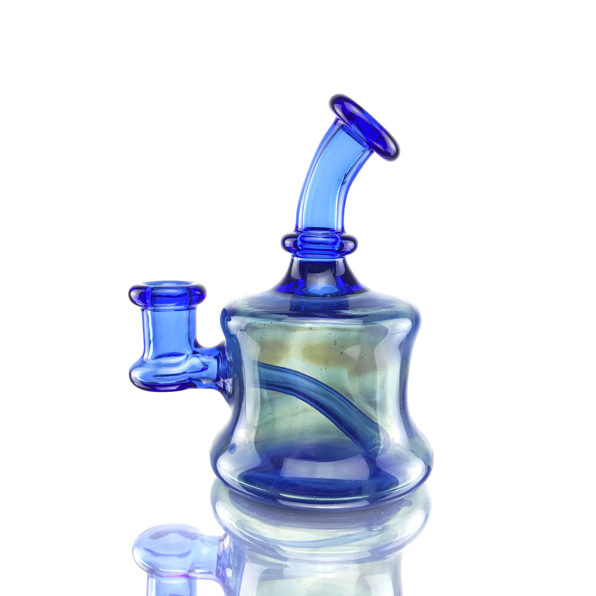 Fully-worked Micro Rig - Blue Dream/Fume Blue - 10mm Female