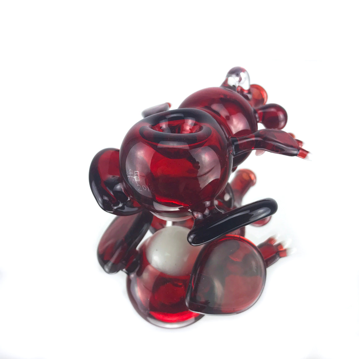 Dabgon One-hitter Pendant - Red